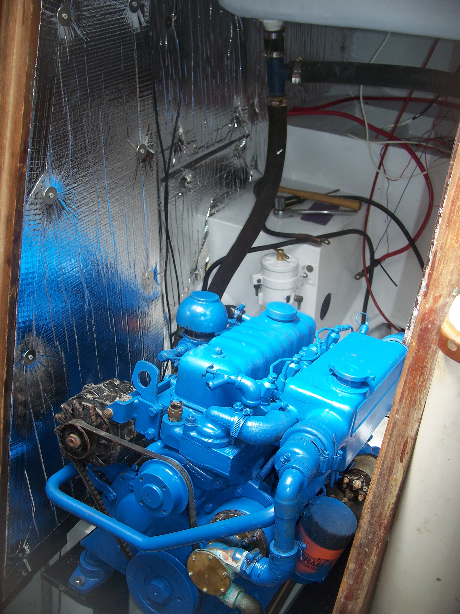 Trawler Engine Room: Engine Room Sound Insulation General Forum