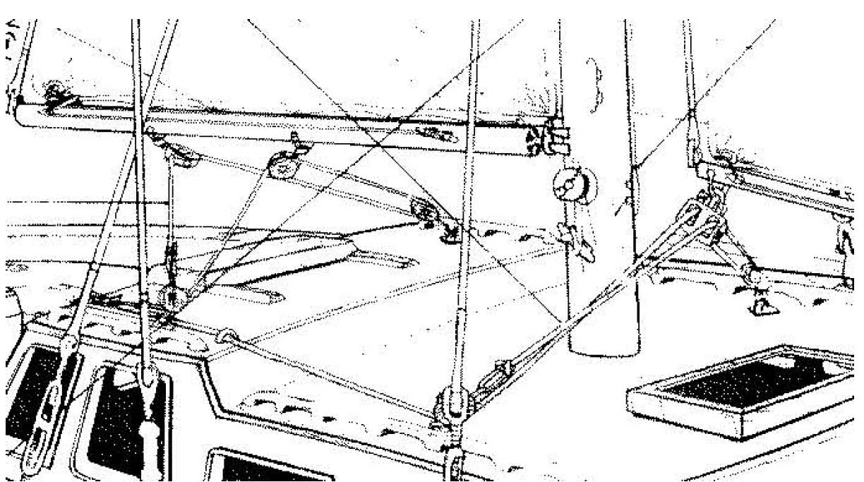 De32 Cutter Running And Standing Rig Details Sails And Rigging