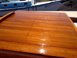 Rebuilding The Companionway Hatch 171 Downeaster Yachts Com